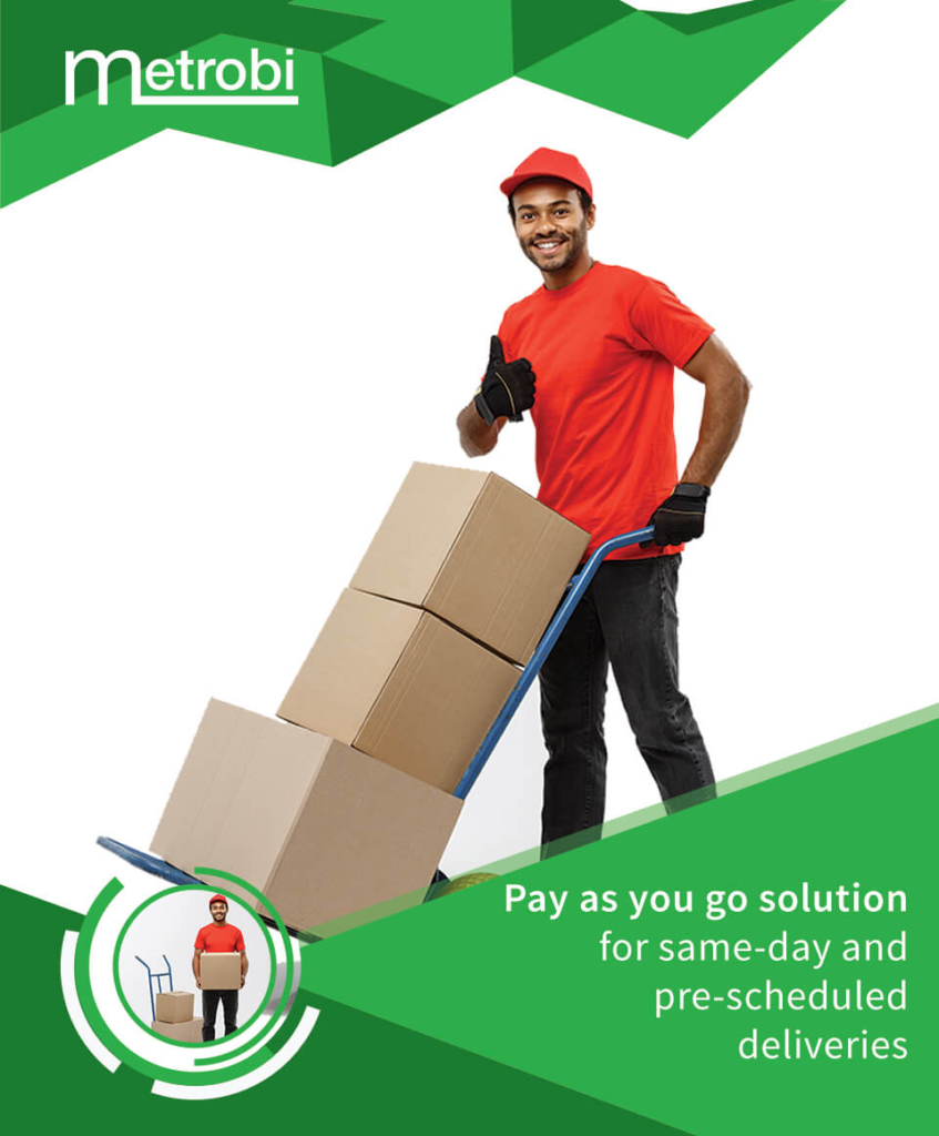 Metrobi pay as you go solution for sameday deliveries
