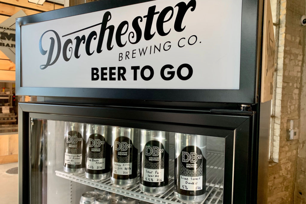 Dorchester Brewing Company delivers with Metrobi