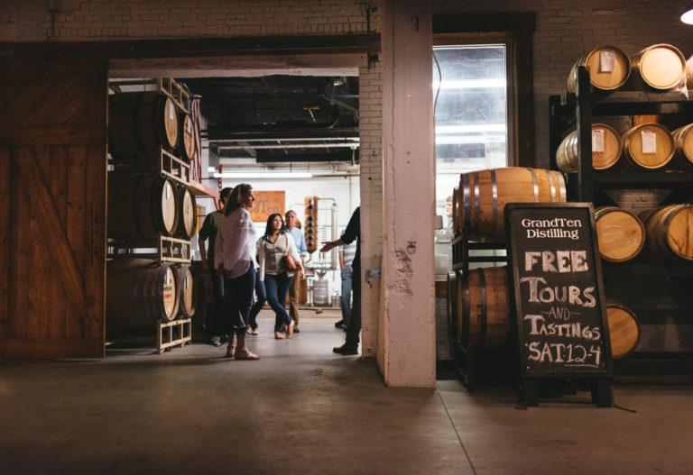 GrandTen Distilling delivers with Metrobi